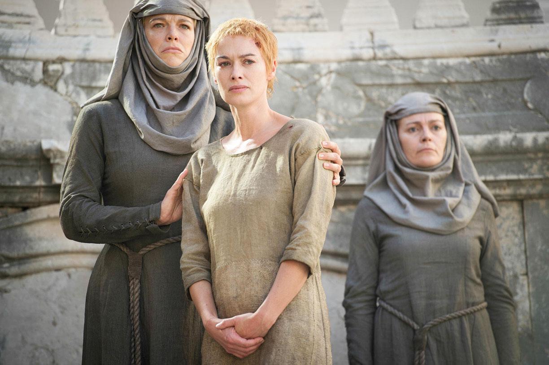Cersei Lannister verguenza cabello corto