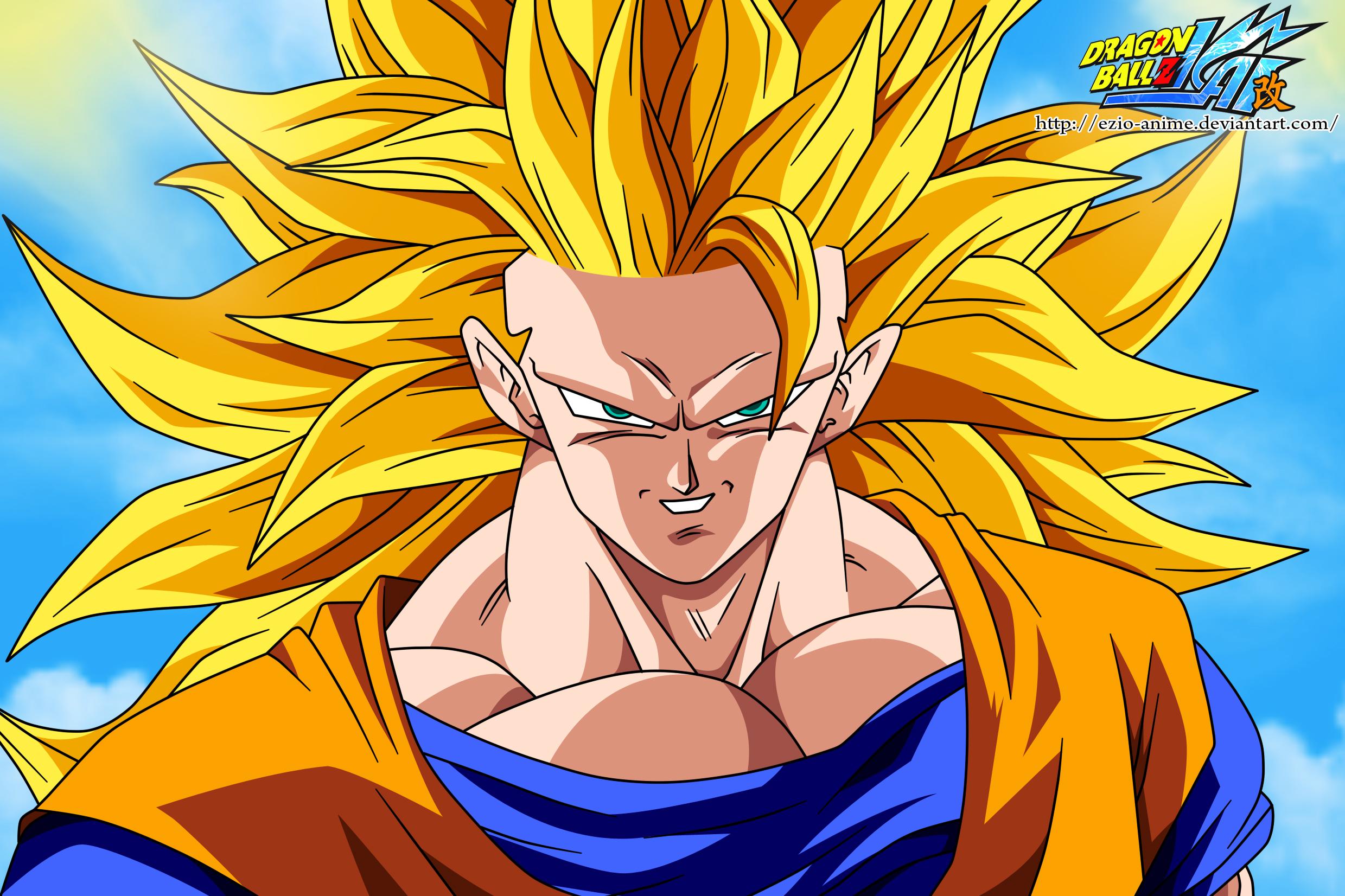 Dragon ball 30 a os un sayayin de muchos estilos de cabello - Dragon ball z super sayen ...