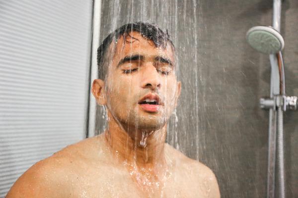 Evita el agua caliente